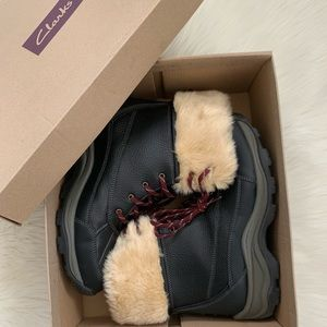 💞Clarks Mazlyn Arctic Boots